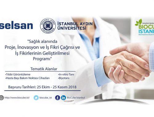 Aselsan – BioCube İstanbul 2018 Yılı 1. Dönem İş Fikri / Proje Çağrısı