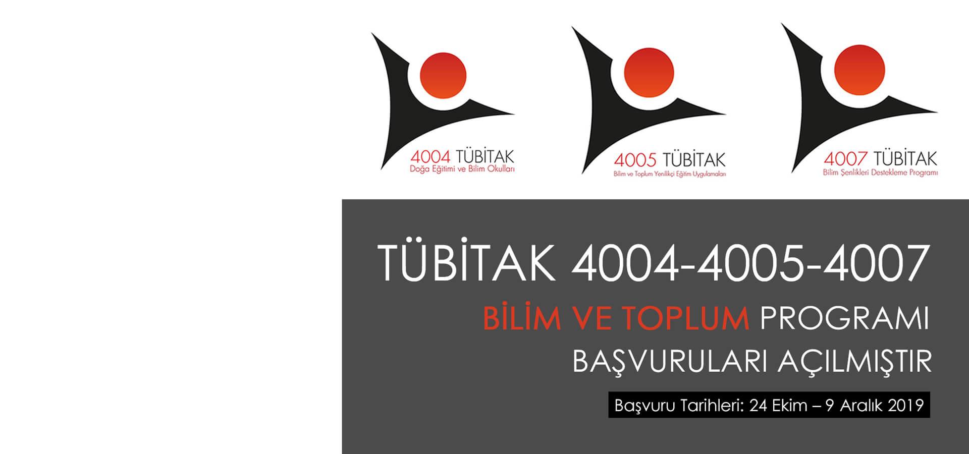 tubitak 4004